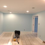 Before: Basement renovation