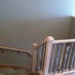 Before: stair railings