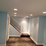 After: Basement renovation
