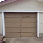 Exterior Home Garage Before