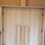 South Side Chapel doors Before